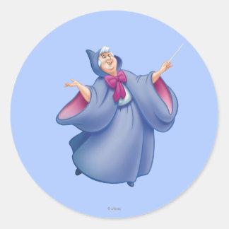 Fairy Godmother Classic Round Sticker