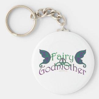 Fairy Godmother Design Keychains