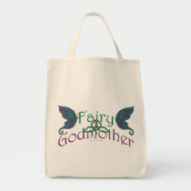Fairy Godmother Design Tote Bags