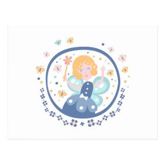 Fairy Godmother Fairy Tale Character Postcard