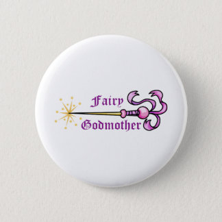 FAIRY GODMOTHER PINBACK BUTTON