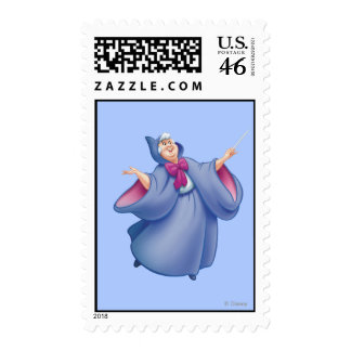 Fairy Godmother Postage Stamps