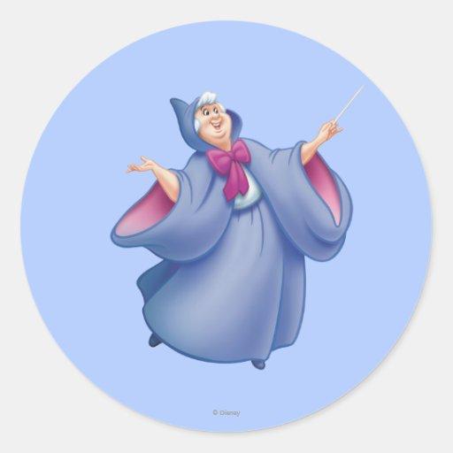 Fairy Godmother Round Sticker