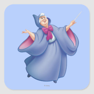 Fairy Godmother Square Sticker