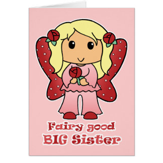 Fairy Good Big Sister Card