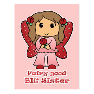 Fairy Good Big Sister Postcard