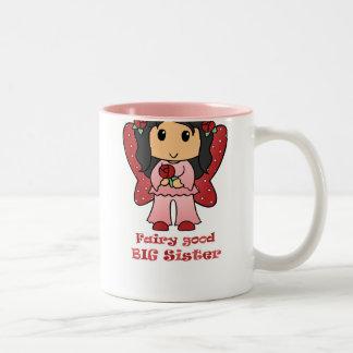 Fairy Good Big Sister Two-Tone Coffee Mug