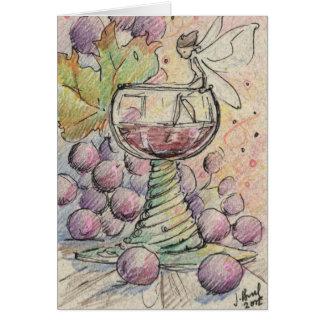 Fairy Good Wine Card