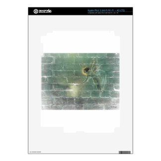 Fairy Green Light Faeries Decals For iPad 3