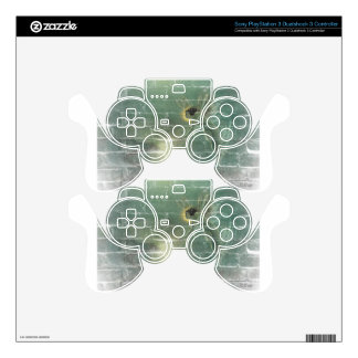Fairy Green Light Faeries Skin For PS3 Controller