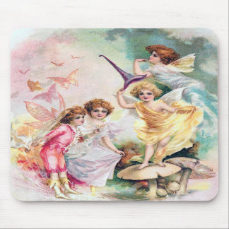 Fairy Greeting Mousepad