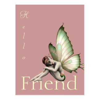 Fairy Greeting Postcard