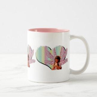 Fairy heart coffee mug