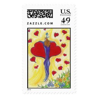 Fairy Heart Postage