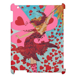 Fairy Hearts CHANGE COLOR ~ iPad 2/3/4 Case Case For The iPad 2 3 4