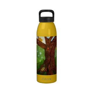 fairy house waterbottle water bottles