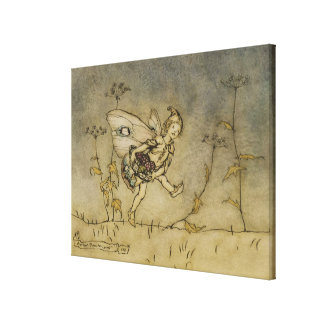Fairy, illustration from 'A Midsummer Night's Drea Canvas Print