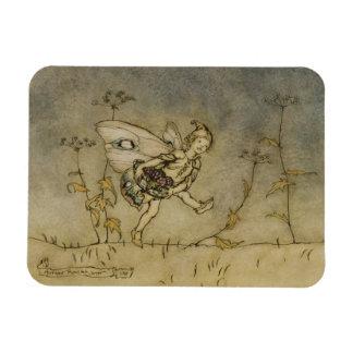 Fairy, illustration from 'A Midsummer Night's Drea Magnet
