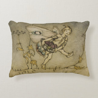 Fairy, illustration from 'A Midsummer Night's Drea Accent Pillow