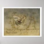 Fairy, illustration from 'A Midsummer Night's Drea Poster