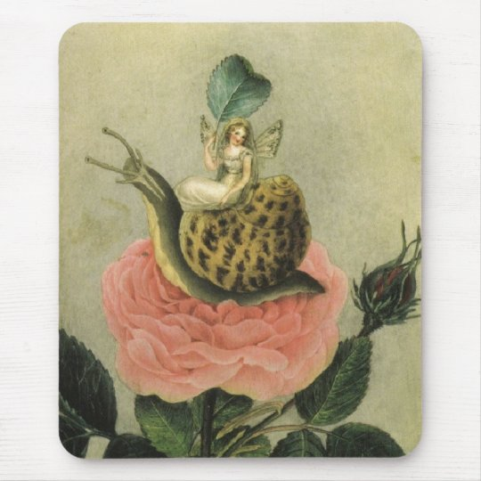 Fairy in a Garden Mouse Pad