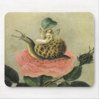 Fairy in a Garden Mousepads