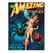 Fairy in a Spider Web Postcard