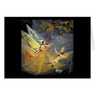 Fairy in a Spiderweb Card
