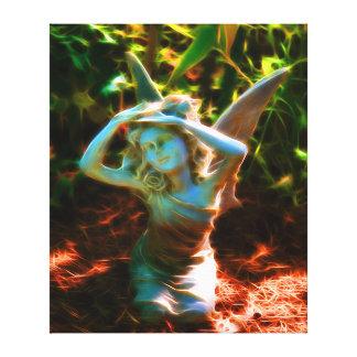 Fairy In Distress Canvas Print