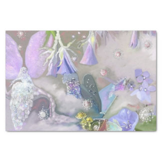 """Fairy in her small world 10"""" x 15"""" tissue paper"""