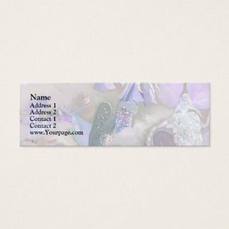Fairy in her small world mini business card