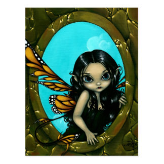 """""""Fairy in My Window"""" Postcard"""