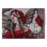 Fairy in Red Greeting Card