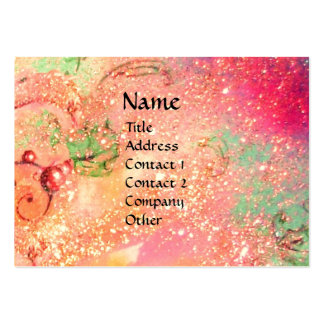 FAIRY IN RED LARGE BUSINESS CARDS (Pack OF 100)