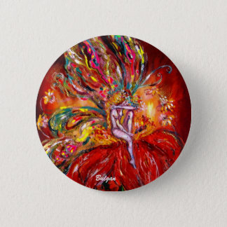 FAIRY IN RED PINBACK BUTTON