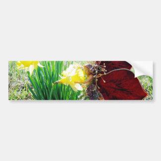 Fairy in the Daffodils Bumper Sticker