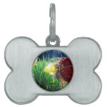Fairy in the Daffodils Pet ID Tags