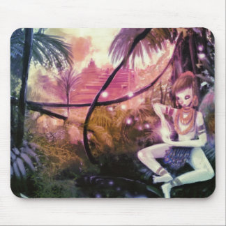 Fairy in the forest mouse pad