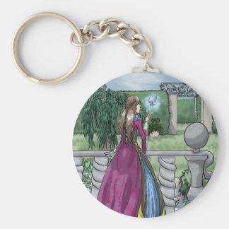 Fairy in the Garden Keychain