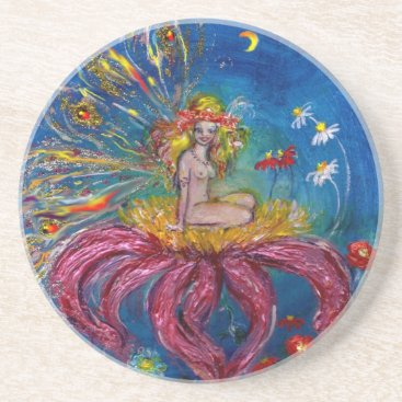 Halloween Themed FAIRY IN THE NIGHT DRINK COASTER