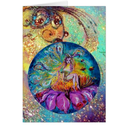 FAIRY IN THE NIGHT / MAGIC BUTTERFLY PLANT CARD