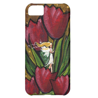Fairy in the Tulips Followthemoonart Cover For iPhone 5C