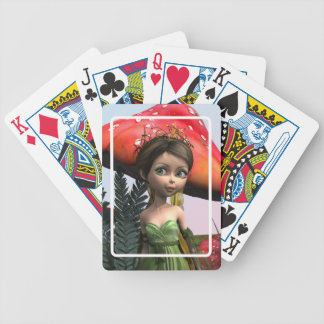 Fairy in Woodland Bicycle Playing Cards
