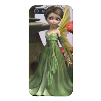 Fairy in Woodland Cover For iPhone SE/5/5s