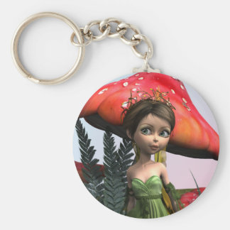 Fairy in Woodland Keychain