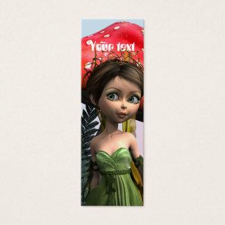 Fairy in Woodland Mini Business Card
