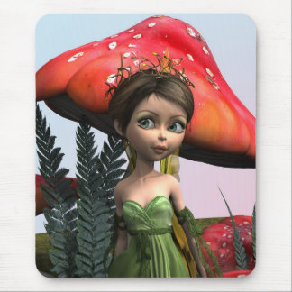 Fairy in Woodland Mouse Pad