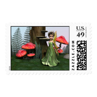 Fairy in Woodland Stamps