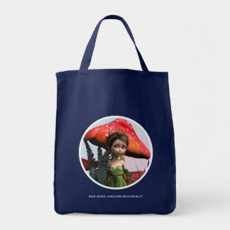 Fairy in Woodland Tote Bag