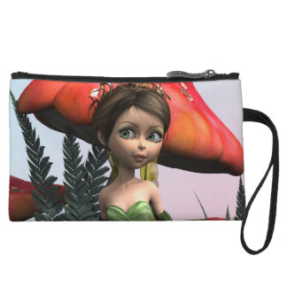 Fairy in Woodland Wristlet